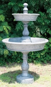 2 Tier Basin Fountain