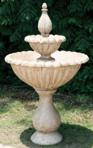 2 Tier Tulip Urn Fountain