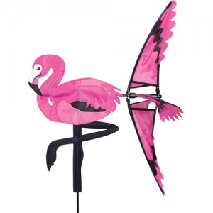 "21"" Pink Flamingo Spinner"