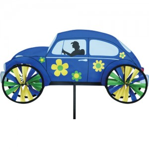 "22"" Hippie Mobile - Blue Spinner"