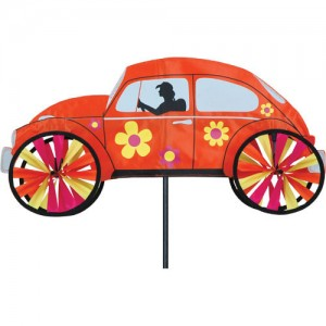 "22"" Hippie Mobile - Orange Spinner"