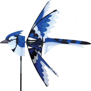 "25"" Eastern Blue Jay Spinner"