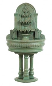 3 Column Wall Fountain