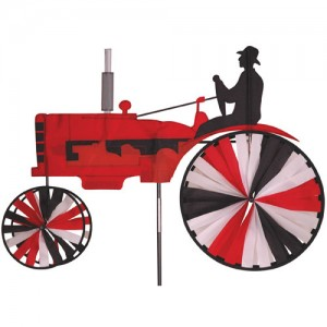 "38"" Tractor Spinner Red"