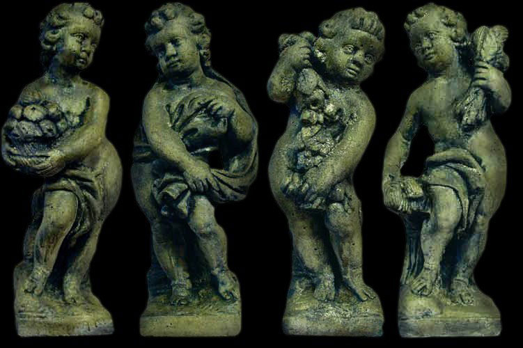 Four Seasons Cherub Statues Maison Decor