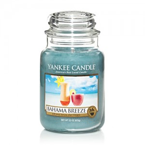 Bahama Breeze Jar Candle