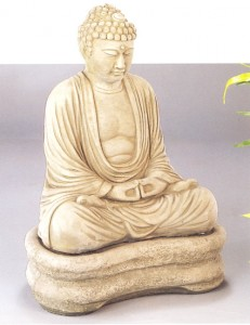 Buddha with Base, 1 pc.