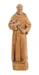 St. Francis Holding Cross