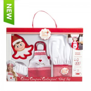 Claus Couture Collection?« Chef Apron Set (includes Cookie Cutter)