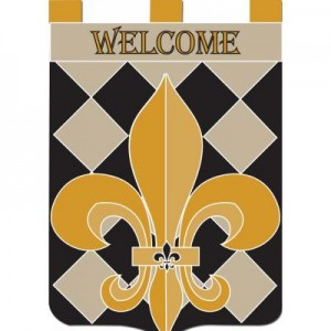 Classic FDL Welcome - Applique Flag