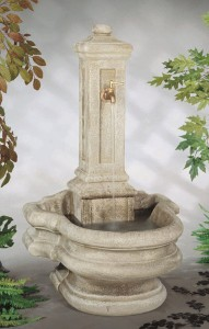Column Well Fountain