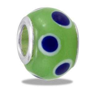 DaVinci Art Glass Blue Dot