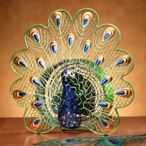 "Elegant ""Peacock"" Fan"