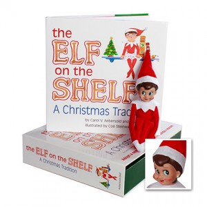 the elf on the shelf a christmas tradition girl light - Elf On The Shelf Christmas Tradition