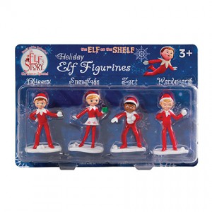 An Elf?ÇÖs Story?äó Figurine Set of 4