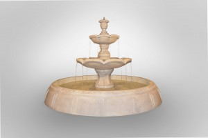 Finial Fountain in Perpetual Pool