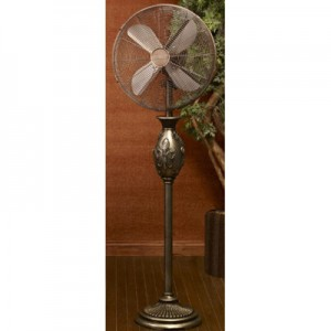 ?ǣFleur De Lis?ǥ Floor Fan