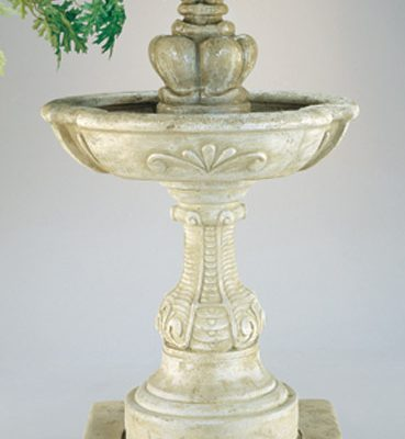 French Fleur De Lys Fountain