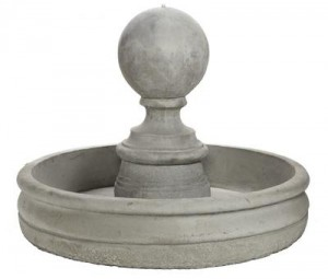 Large Finial Fountain