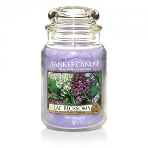 Lilac Blossoms Jar Candle