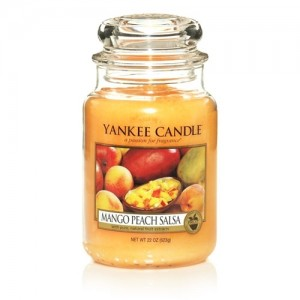 Mango Peach Salsa Jar Candle