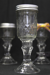 Medium Cajun Wine Glass