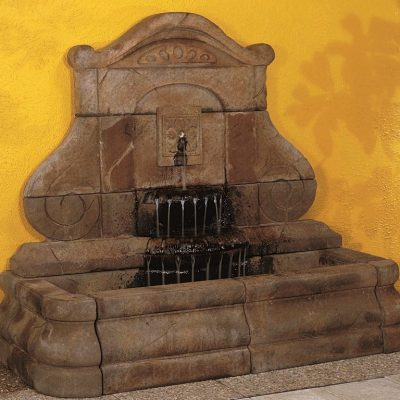 NEW-LIGHTER Avignon Fleur De Lys Fountain