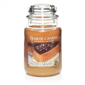 Salted Caramel Scented Candle
