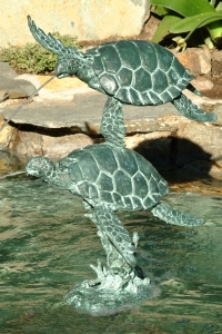 Sea Turtle Fountain