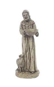 St. Francis with Lamb