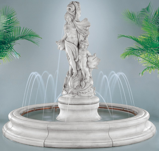 Venus with Dolphins Fountain