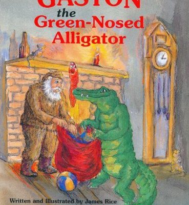 Gaston the Green Nosed Alligator