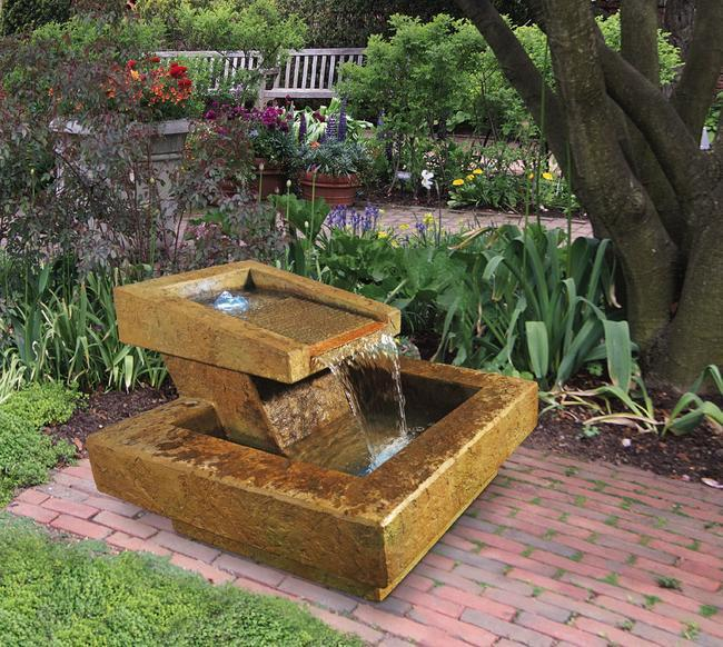 Phoenix fountain for Garden fountains phoenix