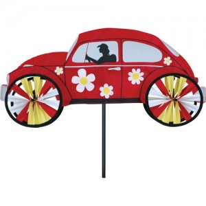 """22"""" Hippie Mobile - Red Spinner"""