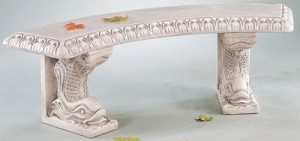 Curved Bench, 3 pc.