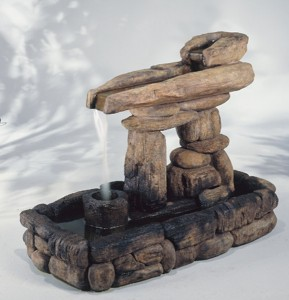 Inuksuk Guide Fountain